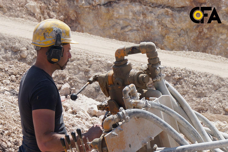 Abbattimento in cava